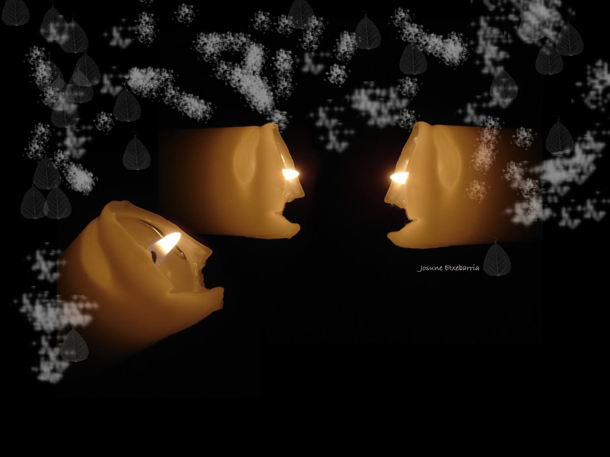 Una vela basta.... (Dedicada a Abeltx)