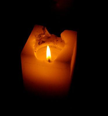 una vela