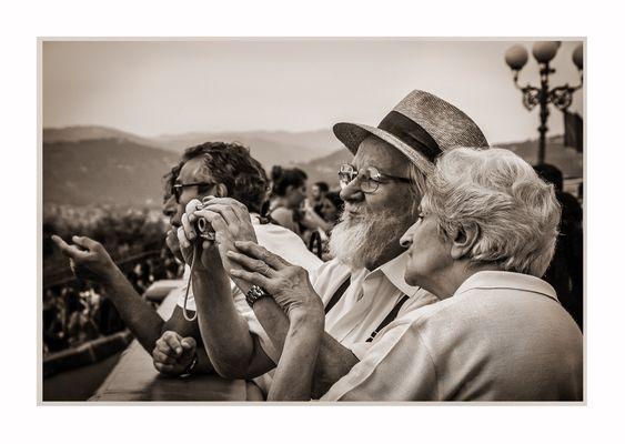 Una vita di fotografie insieme