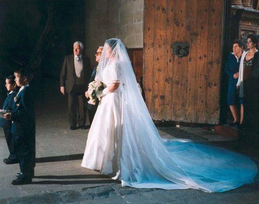 Unbekannte Braut 28.2.1998 in der Kathedrale von Palma de Mallorca