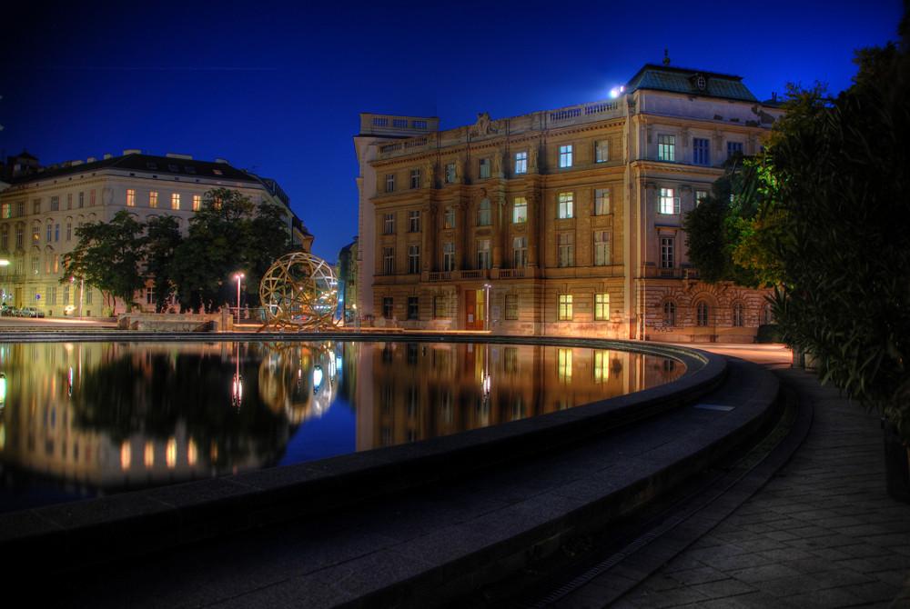 Unbekanntes Gebäude in Wien (HDR)