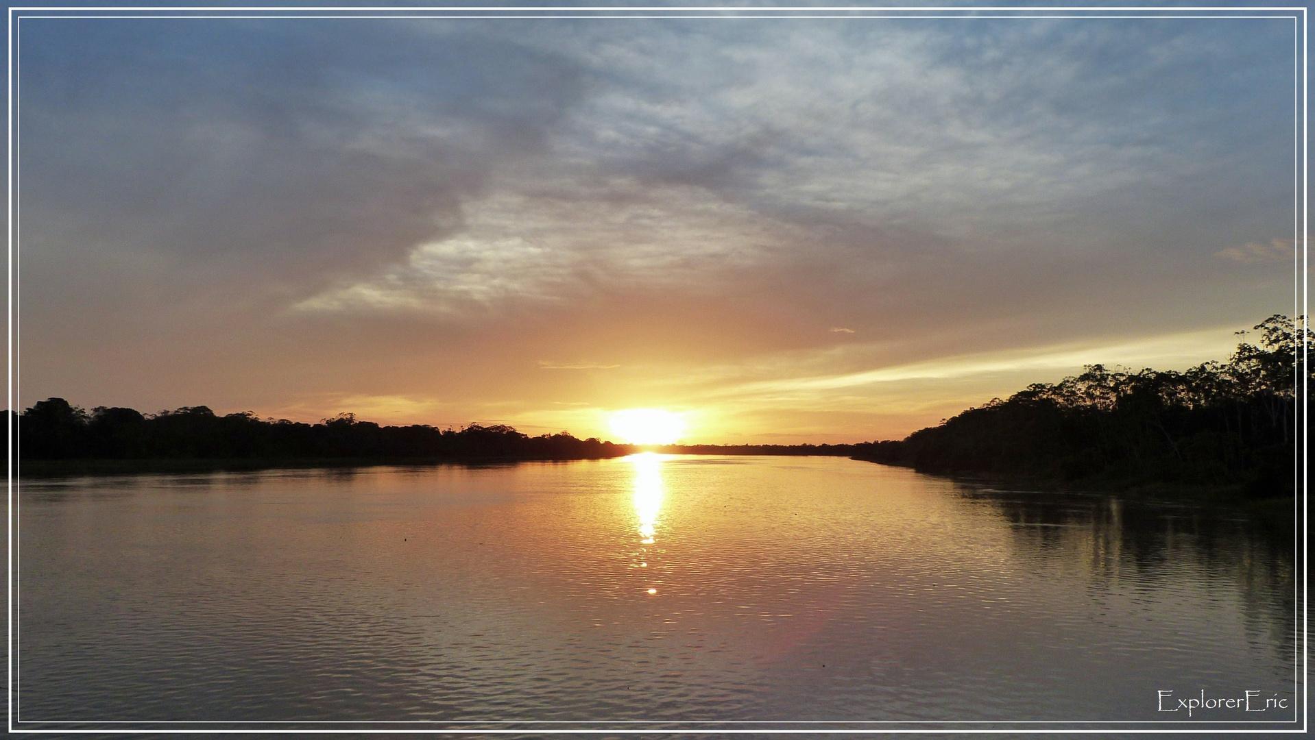 unbeschreiblich die Sonnenuntergänge................