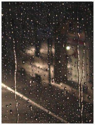 ... und Abends Regen