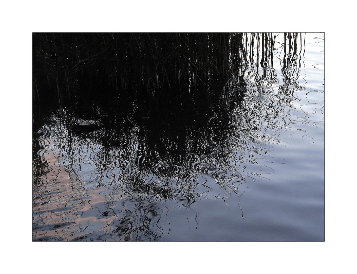 und abends träumt der See ganz leise vor sich hin.......