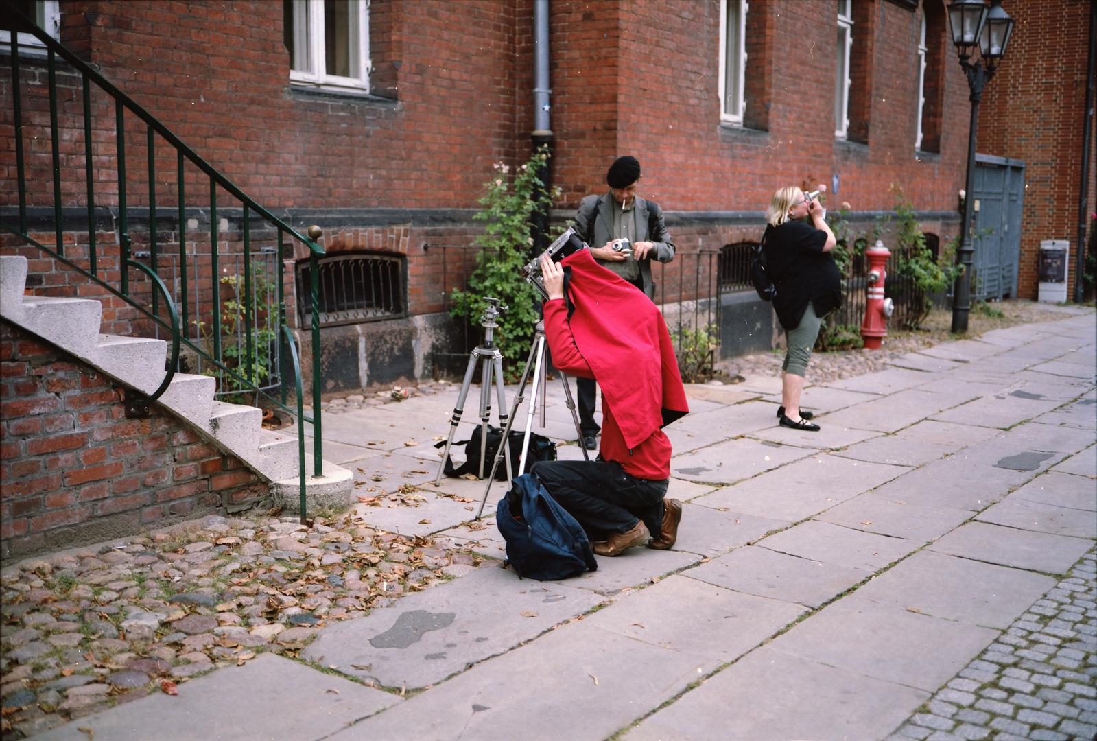 Und Äction !!! 2 . Rollfilmkameratreffen Nord in Lüneburg