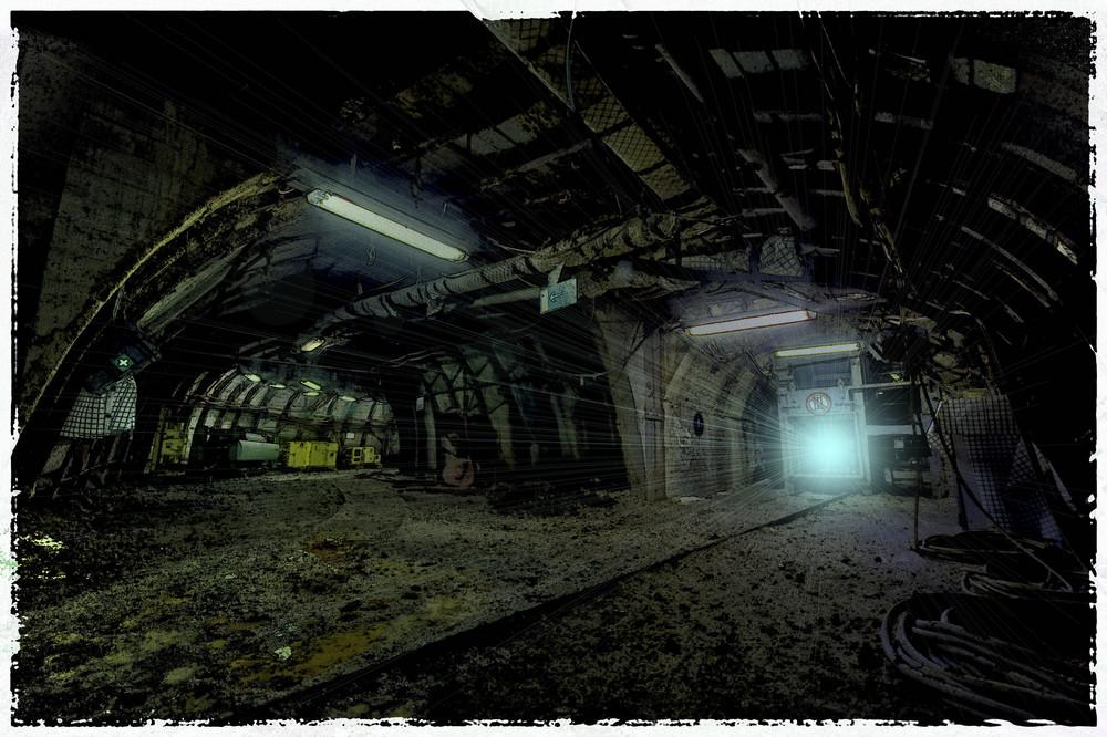 ...und am Ende des Tunnels wartet ein helles Licht...
