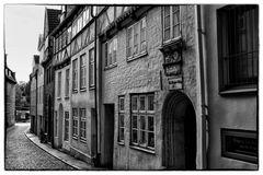 Und auch in Lübeck nix als grauer Himmel ...