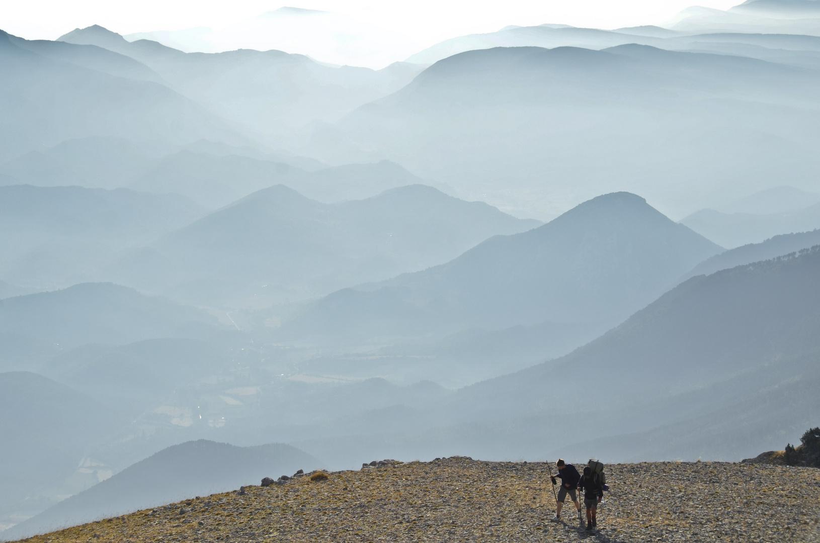 ... und auf dem Berg