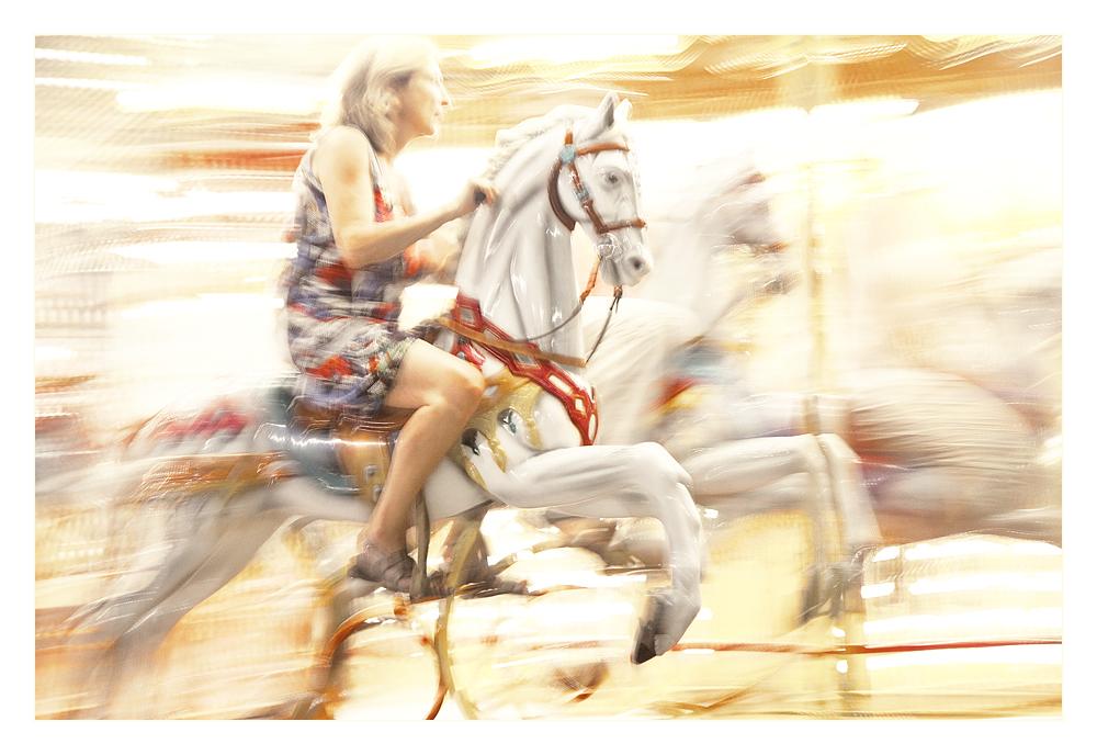»Und auf den Pferden ...«