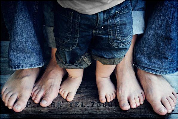 ... und bald sind es 4 paar Füße!