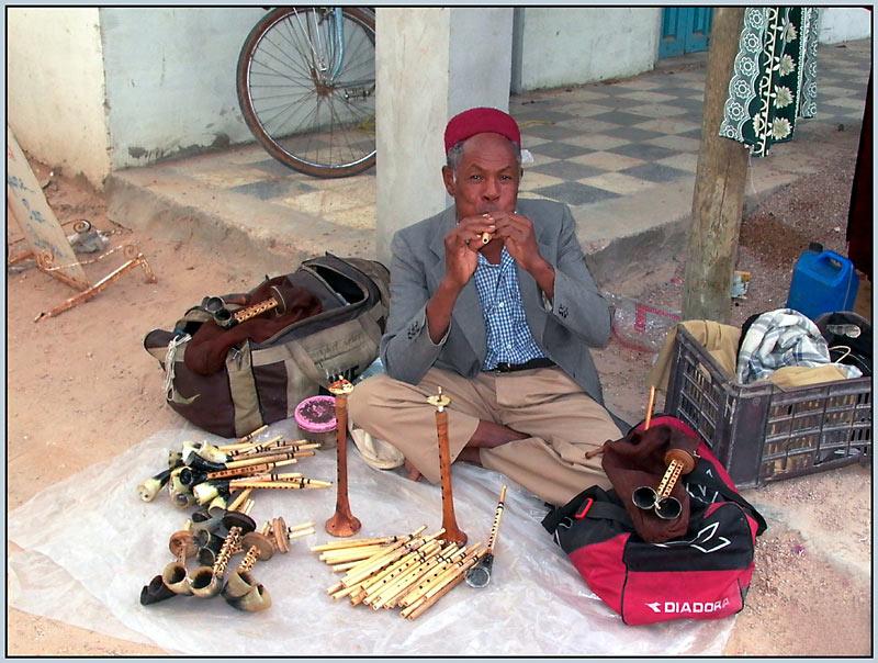 Und der Flötenspieler spielte nur für mich (Tunesien2)