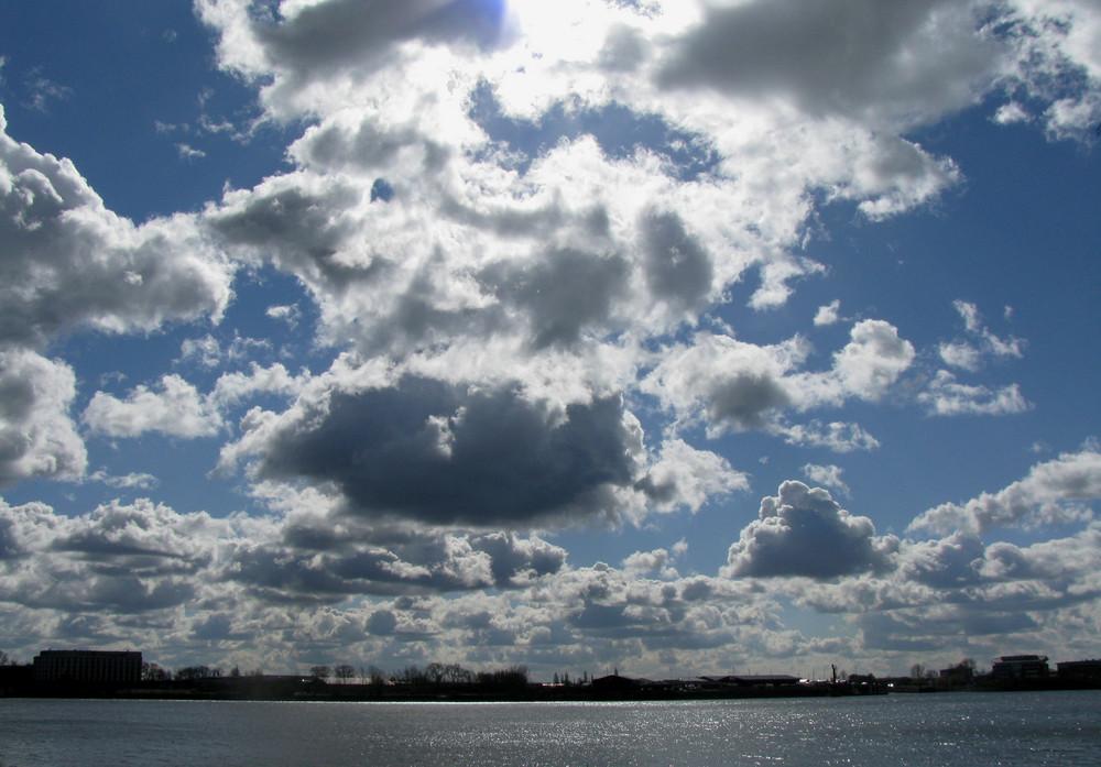 und der himmel so weit...
