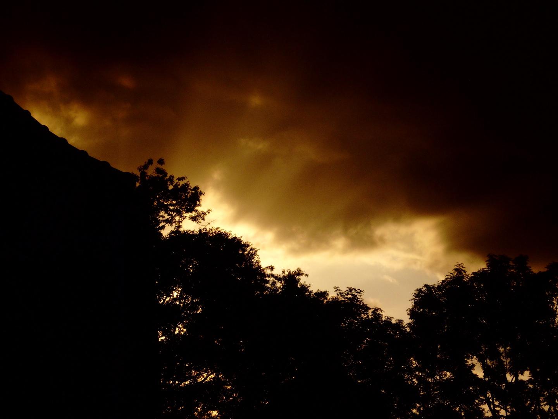 Und der Himmel strahlt...
