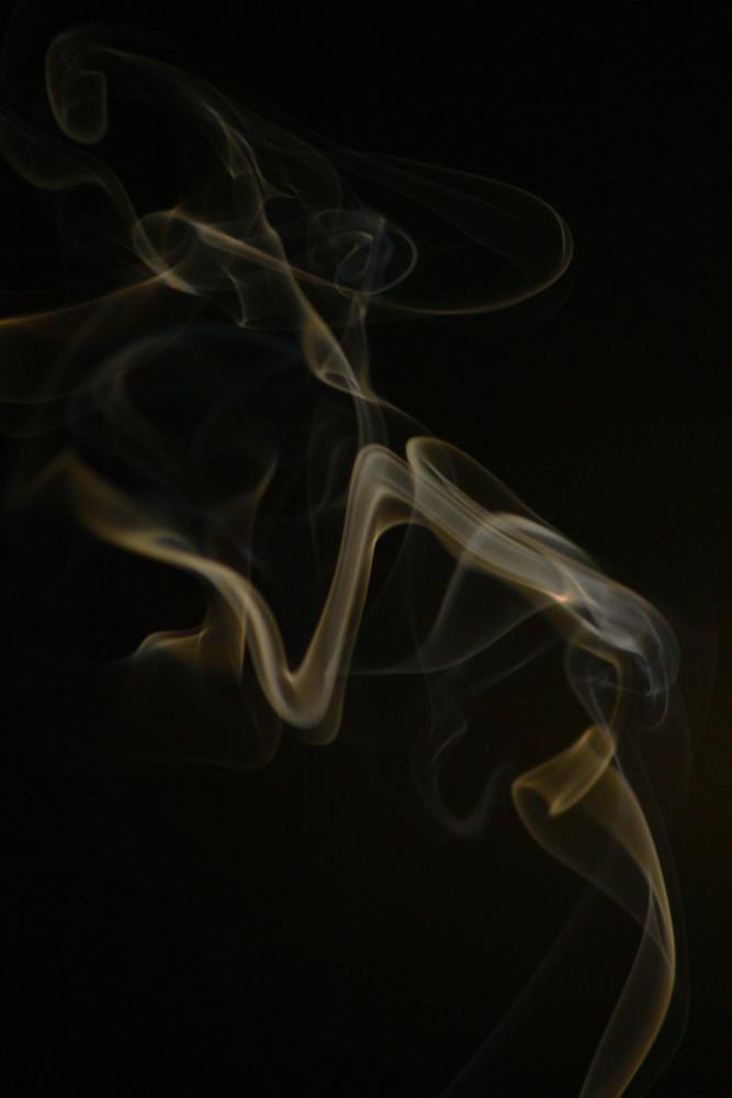 und der Rauch tanzt wieder...
