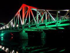 Und die Glienicker Brücke jetzt