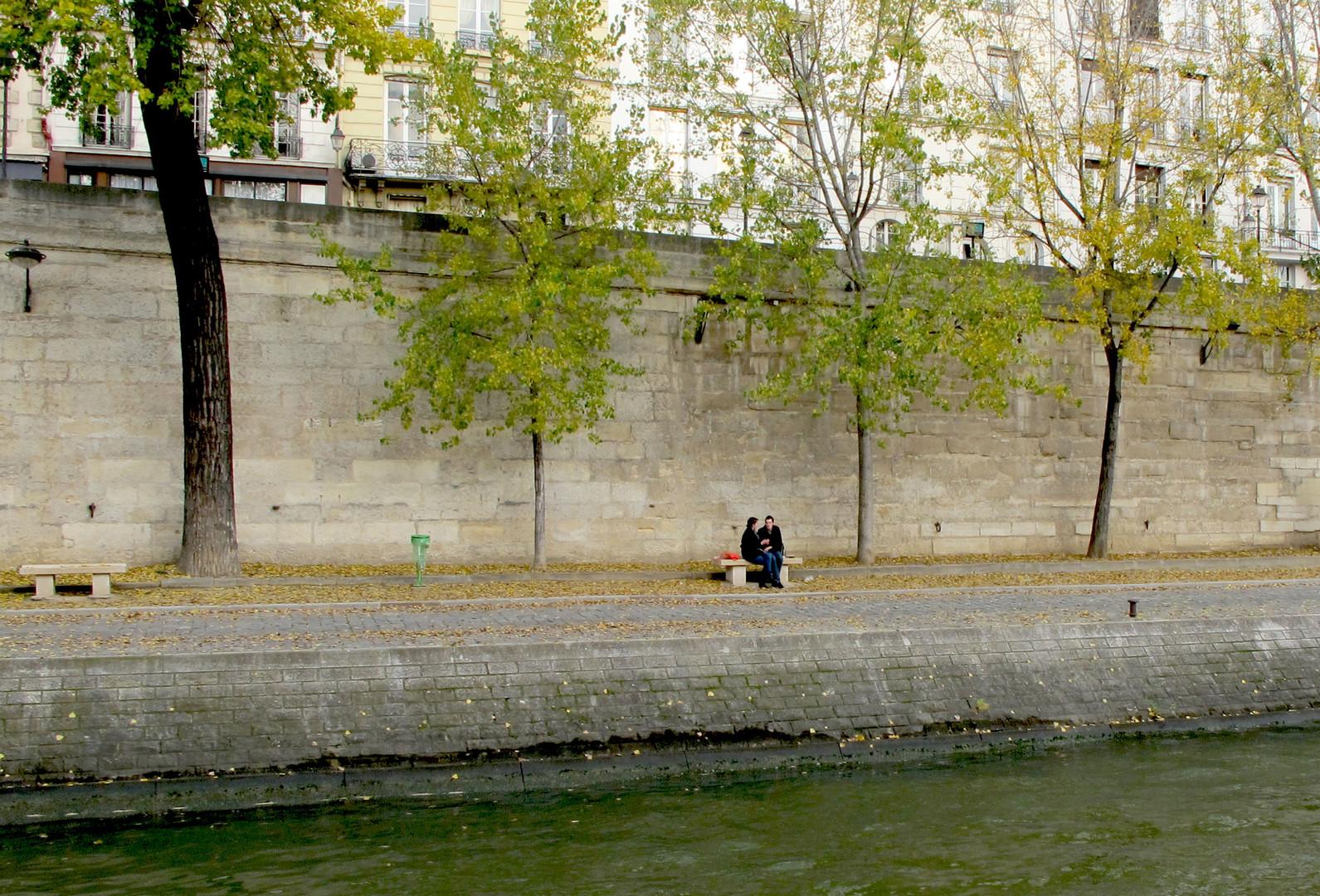 ...und die Liebe in Paris