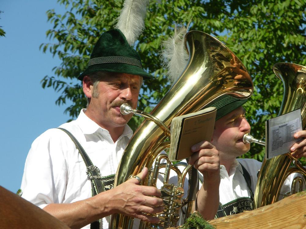 Und die Tuba...
