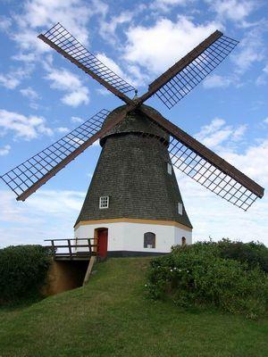Und die zweite Mühle auf Samsö