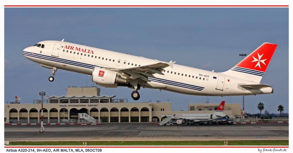 Und einmal Air Malta....
