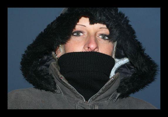 ... und es ist kalt ...