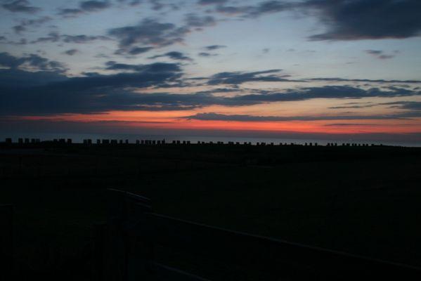Und es wurde Abend am Strand von Wallnau III...