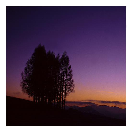 Und es wurde Abend in den Bergen.......
