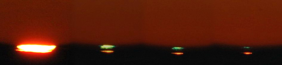 """.. und hier noch ein """"Green Flash Panorama"""", ..."""
