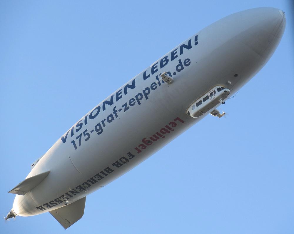 Und immer wieder grüsst der Zeppelin ...