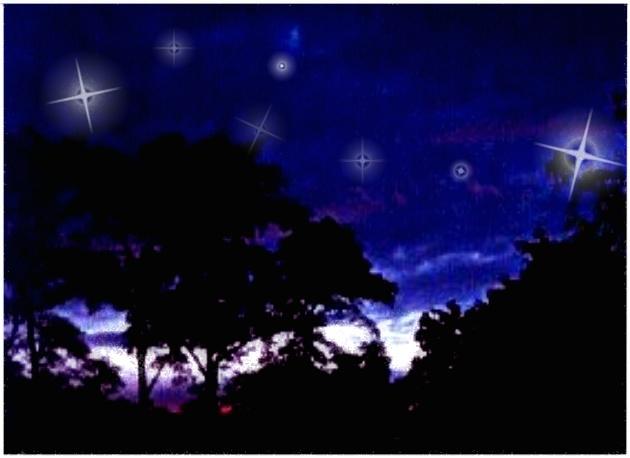 und jedem leuchtet (s)ein Stern