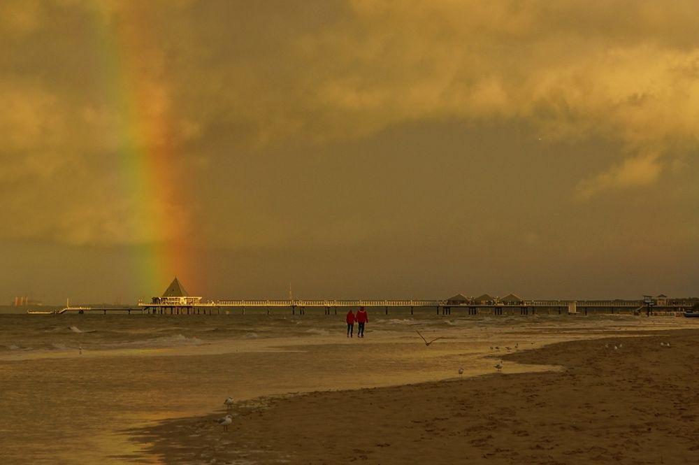 Und Jimmy ging zum Regenbogen...