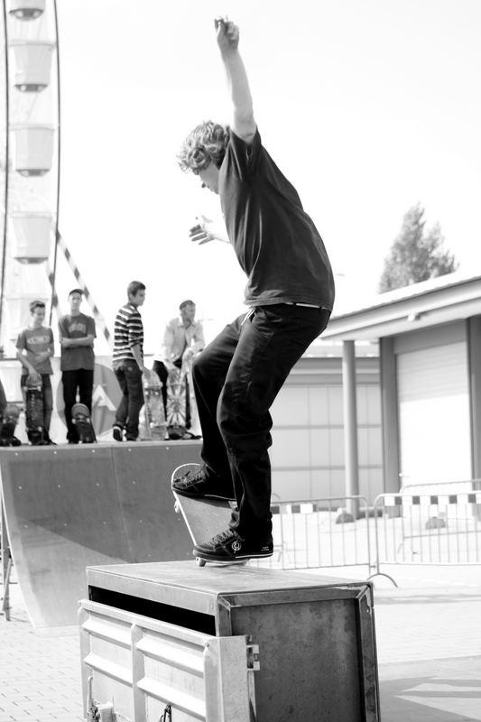 Und mal ein anderer Skater