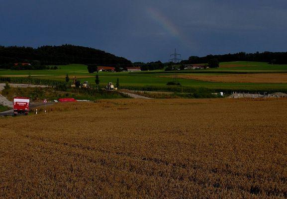 Und Markku ging zum Regenbogen