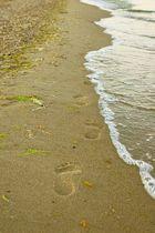 Und Meer wischte ihre Spuren weg...