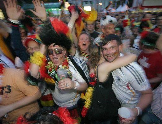 ...und morgen kommen die tränen, meine lieben deutschen  freunde ;-)