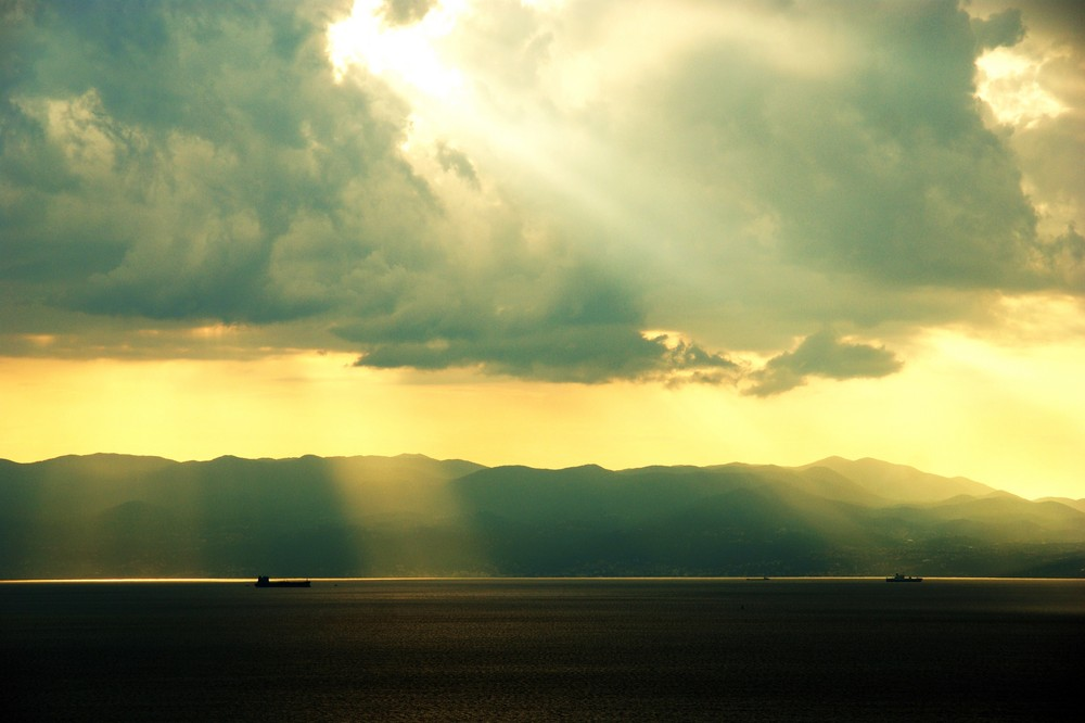 Und nach dem Regen kommt die Sonne.