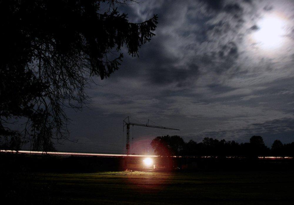 ... und Nacht auf der anderen Seite ....