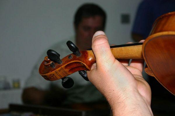 und ne Geige war auch dabei