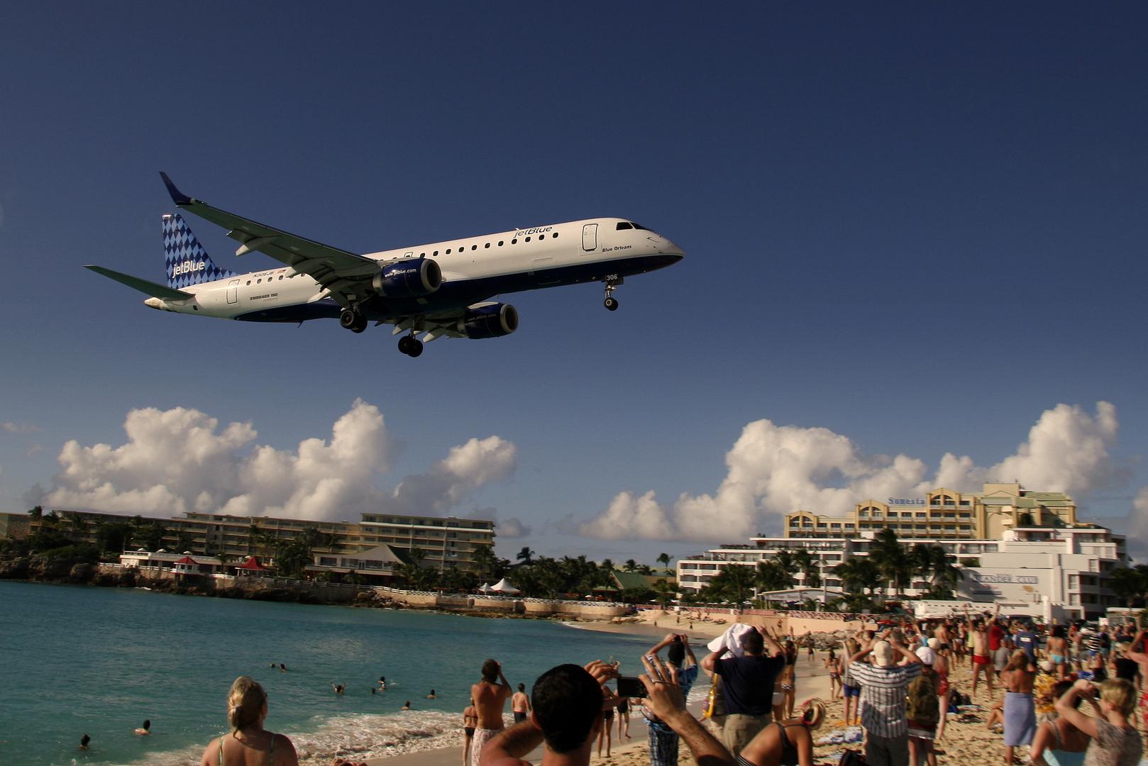 ...und noch ein Anflug auf St. Maarten, N306JB