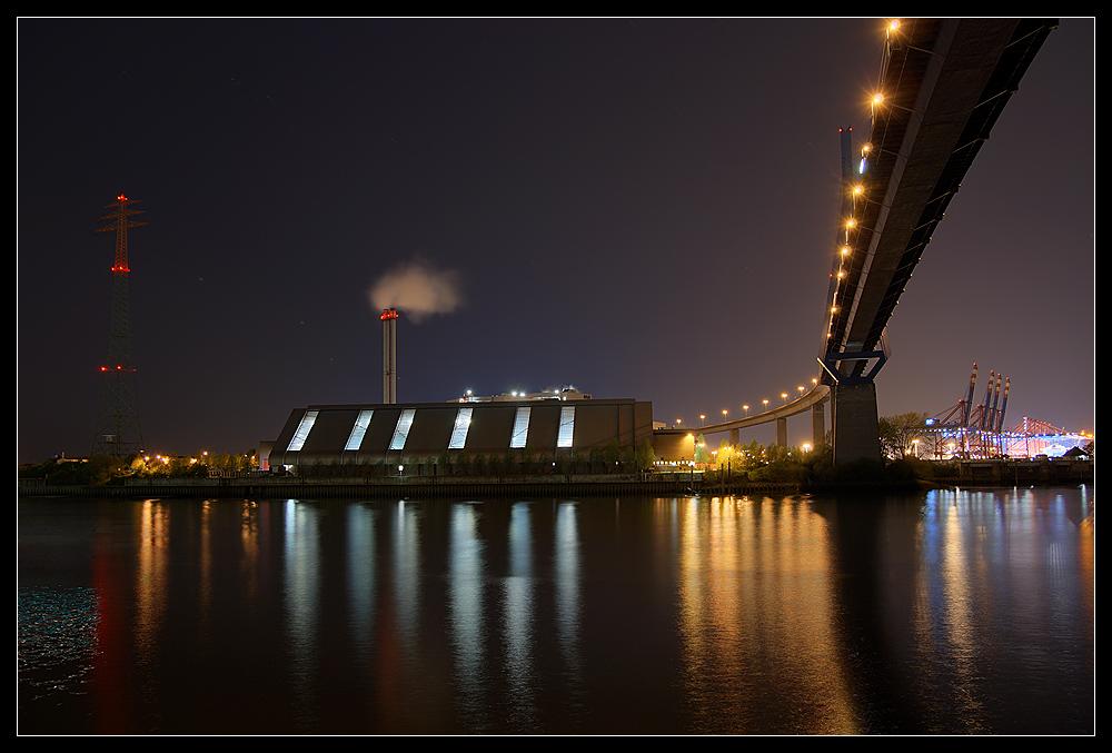 Und noch ein Köhlbrandbrückenbild