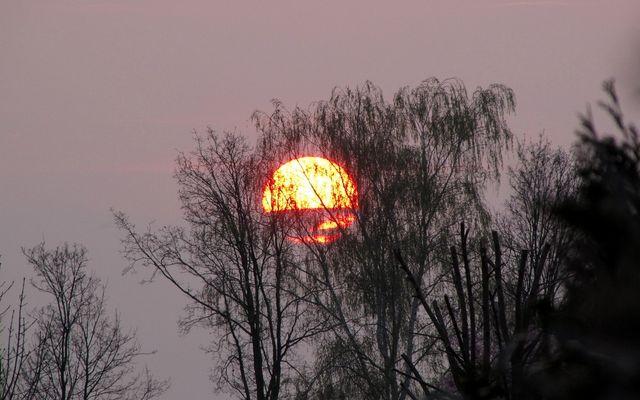 und noch ein ... Sonnenuntergang