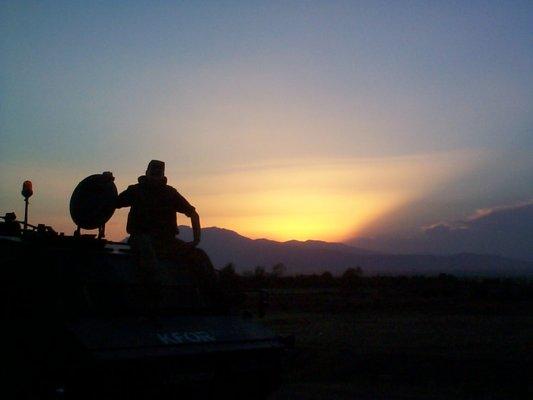 Und noch ein Sonnenuntergang!