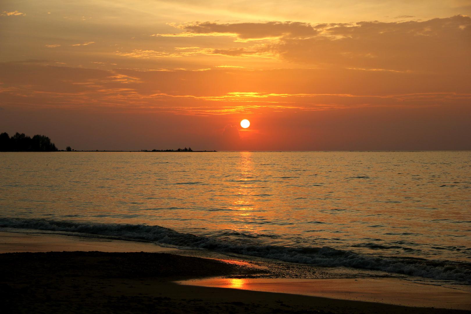 Und noch ein Sonnenuntergang...