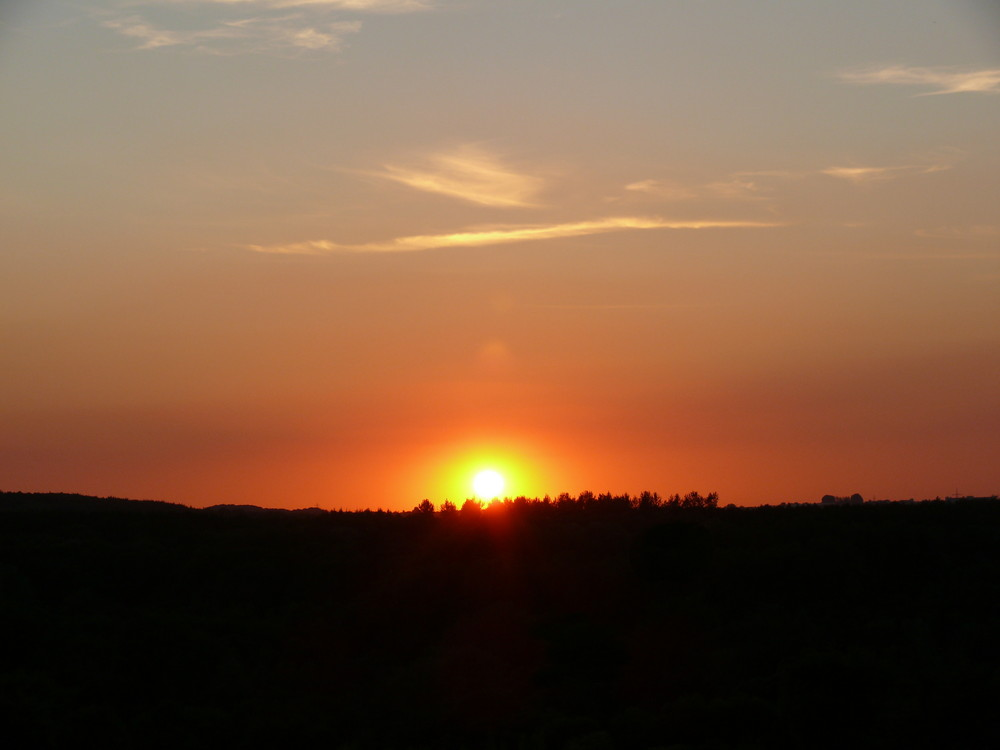 und noch ein Sonnenuntergang von mir ;)