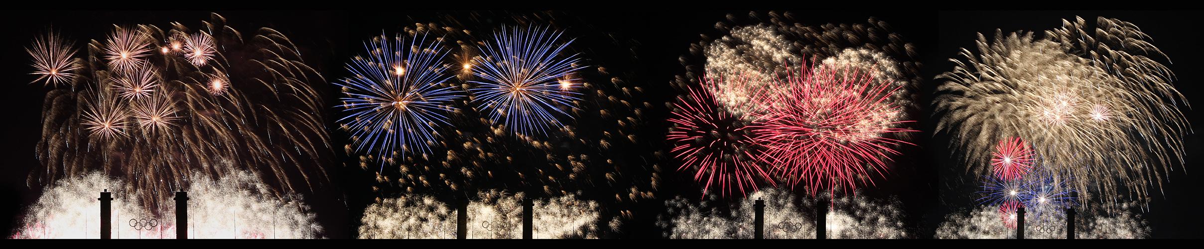 Und noch etwas Feuerwerk  zum Sonntag-Abend!