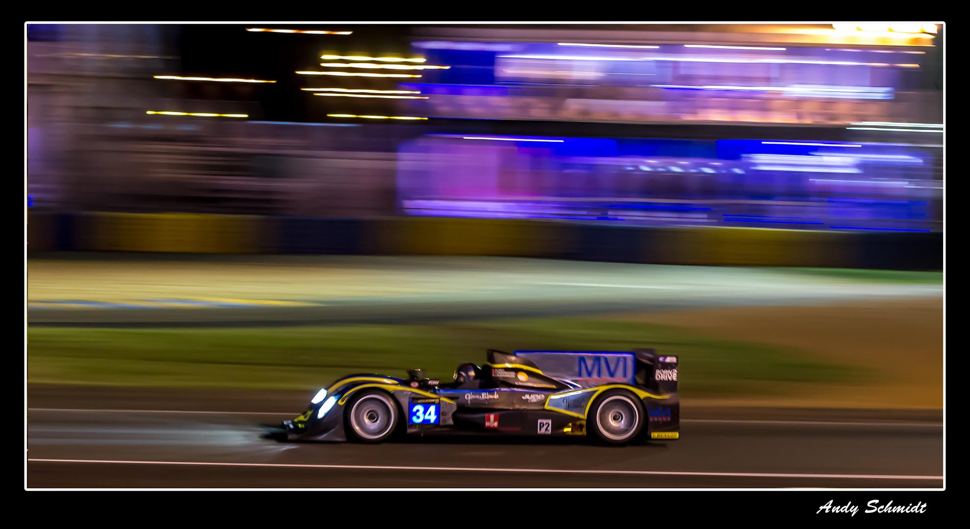 und noch mal bei Nacht Le Mans 2013