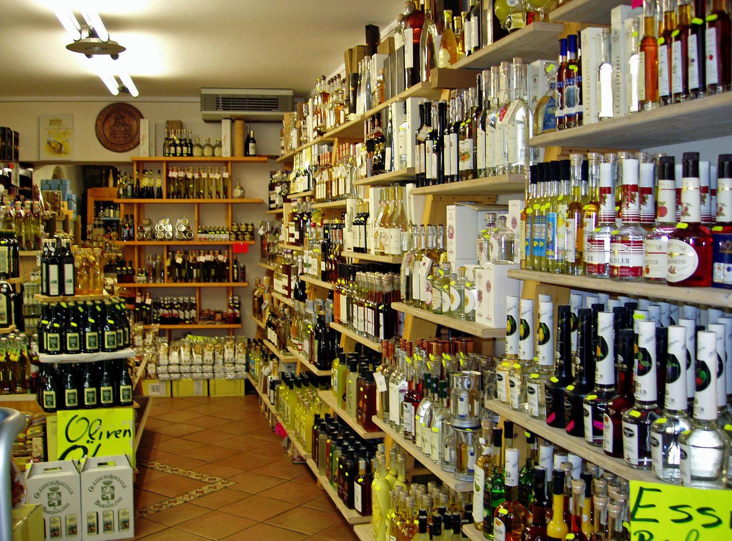 ... und Olivenöl