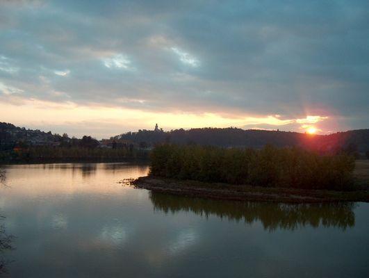 ...und ruhig fließt die Moldau (Südböhmen - Tschechien)