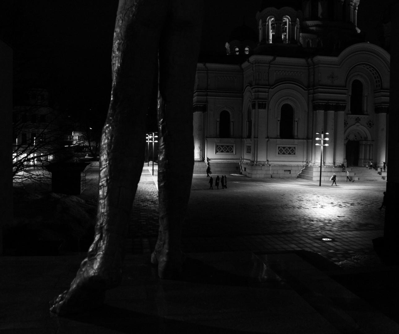 ... und schließlich kommt die Nacht