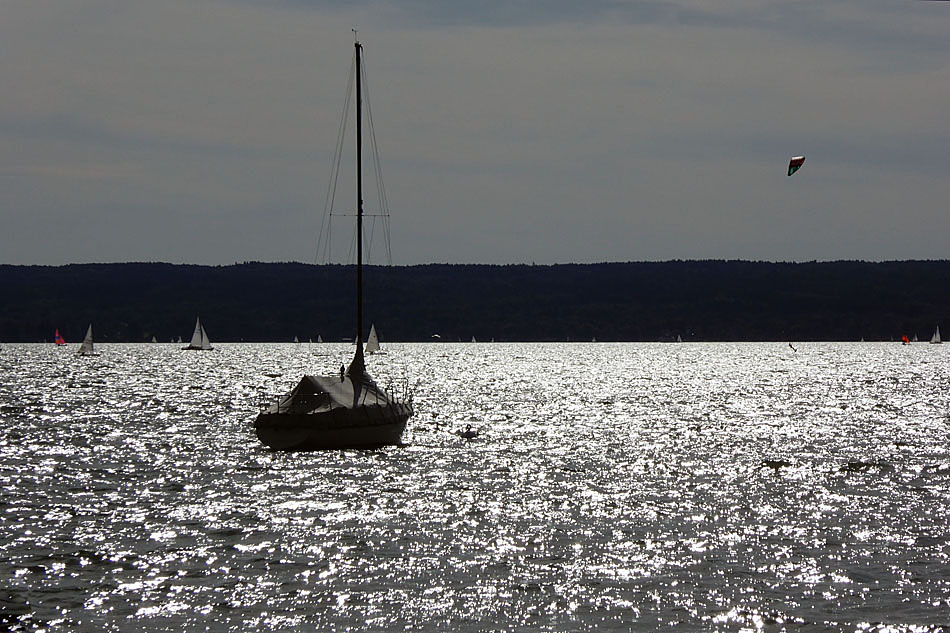 ...und silbern glänzt der See