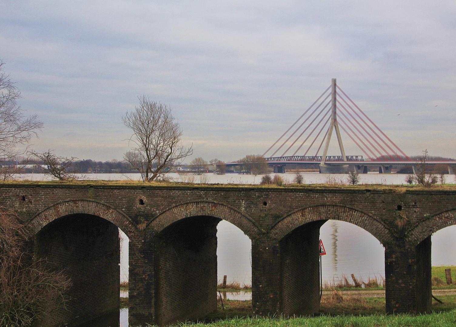 und so baute man Brücken vorm Krieg.....